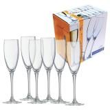 Бокал для шампанского 170 мл 6 шт Luminarc Signature H8161 (53146)
