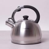 Чайник из нержавеющей стали со свистком 2 л Kamille 0694BN