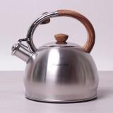 Чайник из нержавеющей стали со свистком 2 л Kamille 0694N