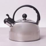 Чайник из нержавеющей стали со свистком 2.5 л Kamille 0679