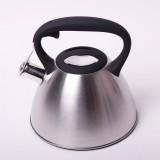 Чайник из нержавеющей стали со свистком 3 л Kamille 0651