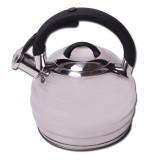 Чайник из нержавеющей стали со свистком 3 л Kamille 0653
