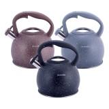 Чайник Kamille 3л из нержавеющей стали (индукция) со свистком KM 1074