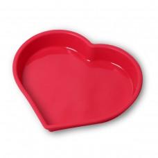 """Форма для выпекания силиконовая """"Сердце"""" 25.5х23.5х3.5см Kamille 7702"""