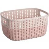 Корзина плетеная пластиковая 3 л Ardesto Sweet Home AR1730ВР розовая