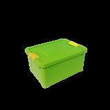 Контейнер с ручками-зажимами Smart Box Spring 1.7 л Алеана 124054
