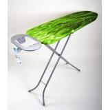 Гладильная доска 114х34 см (металический стол) с подставкой для утюга и розеткой Eurogold 9993