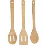 Набор кухонных принадлежностей 3 предмета из бамбука Renberg RB-5042