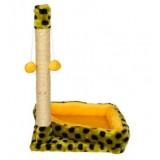 Когтеточка Фелита сизаль угловая с игрушками ID00072