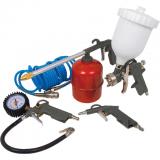 Набор пневмоинструмента для компрессора 5 в 1 Луч-профи