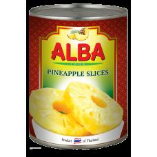 Ананасы кольцами в сиропе 580 мл Alba Food