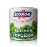 """Горошек консервированный """"Эконом"""" 420 г в жестяной банке ASP"""