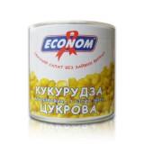 """Кукуруза консервированная """"Эконом"""" 340 г в жестяной банке ASP"""
