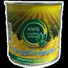 Кукуруза сахарная 340 г 100 % природный продукт в жестяной банке ASP