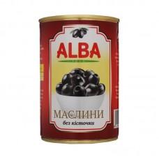 Маслины с косточкой 300 мл Alba Food