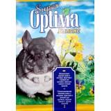 Сбалансированная зерновая смесь с овощами, фруктами и орехами для кроликов, морских свинок и других грызунов 500 г Super Optima Баланс (картон)