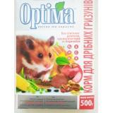 Сбалансированный витаминизированый корм для хомяков, мышей и других мелких грызунов 500 г Optima (картон)