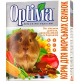 Сбалансированный витаминизированый корм для морских свинок и других грызунов 500 г Optima (картон)