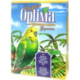 Сбалансированная смесь семян, тропических фруктов и орехов для волнистых попугаев 500 г Super Optima Фруктовое Меню (картон)