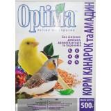 Полноценный корм с йодом для канареек, астрильдов, амадин и других мелких птиц 500 г Optima (картон)