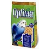 Полноценный корм с витаминами и минералами для волнистых попугаев, неразлучников, корелл и других мелких попугаев 500 г Optima