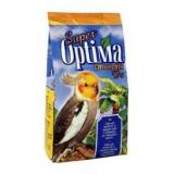 Витаминизированый корм с добавками для повышения иммунитета для волнистых и средних попугаев 500 г Super Optima Стимулин Йод
