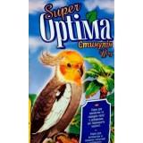Витаминизированый корм с добавками для повышения иммунитета для волнистых и средних попугаев 500 г Super Optima Стимулин Йод (картон)
