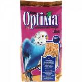Полноценный корм с витаминами и минералами для волнистых попугаев, неразлучников, корелл и других мелких попугаев 500 г Optima Йод