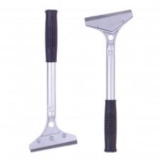 Скребок для чистки стеклокерамических поверхностей 28х10х2 см из алюминия Kamille 7803