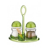 Набор для соли и перца 90 мл 2 шт Renga Helezon Green 122088