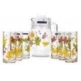 Набор для воды 7 предметов Luminarc Crazy Flowers N0802 (4621)