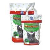 Гигиенический наполнитель комкующийся мелкий для кошачьего туалета 5 кг Комфорт Компакт Кедр