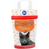 Гигиенический наполнитель комкующийся средний для кошачьего туалета 2.5 кг Комфорт Эконом без запаха