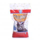 Гигиенический наполнитель комкующийся средний для кошачьего туалета 5 кг Комфорт Эконом без запаха