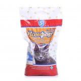 Гигиенический наполнитель комкующийся средний для кошачьего туалета 5 кг Комфорт Эконом Кедр