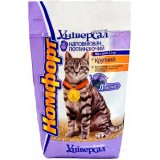 Гигиенический наполнитель поглощающий крупный для кошачьего туалета 2.5 кг Комфорт Универсал Лаванда