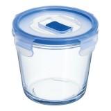 Емкость для еды круглая глубокая 840 мл Luminarc Pure Box Active J5643