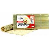 Коврик для приготовления суши Ма-киса бамбуковый 27х9 см Akura