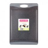 Доска разделочная 43х29.7х0.9 см из пластика Kamille 10072 (серый мрамор)