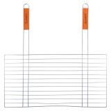 Решетка для гриля плоская 59х58х30см с 2-мя деревянными ручками Скаут 0742