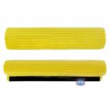 Запаска 34 см на швабру мягкая желтая Ама 0055