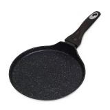 Cковорода блинная 24 см с антипригарным мраморным покрытием Kamille 4111
