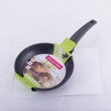 "Cковорода 20 см с антипригарным мраморным покрытием ""Black Marble"" Kamille 4121"