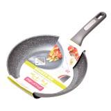 Сковорода 28 см с гранитным покрытием Kamille 4290GR без крышки