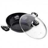 Сковорода Вок с мраморным покрытием 28 см Kamille 4258 MR