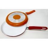 Сковорода блинная с керамическим покрытием 22 см Vincent VC-4450-22 mix