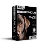 Капли для собак от блох и клещей на холку 4-10 кг (имидаклоприд)/10 premium Unicum UN-007