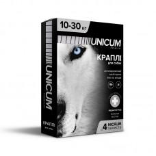 Капли для собак от блох и клещей на холку 10-30 кг (имидаклоприд)/10 premium Unicum UN-008