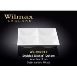 Wilmax Менажница квадратная 20см WL-992018