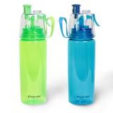 Бутылка 570 мл для спорта Kamille 2301 (зеленая, голубая)